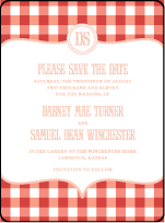 Savannah Letterpress Save The Date Design Small