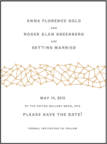 Soho Letterpress Save The Date Design Small