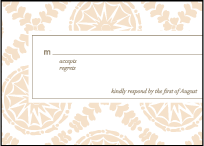 Solina Letterpress Reply Design Small