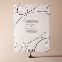 Surya Letterpress Invitation Design Small