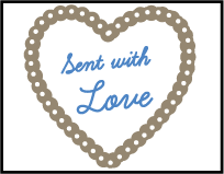 Sweet Heart Letterpress Stamp Design Small