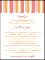 Sweet Summer Letterpress Direction Design Small