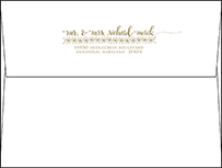 Ursula Letterpress Envelope Design Small