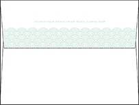 Viceroy Letterpress Envelope Design Small