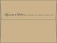 Westley Letterpress Envelope Design Small