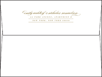 Whisper Letterpress Envelope Design Small
